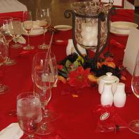 Choose your colors and table setting for your perfect wedding event at the Corral de Tierra Country Club off Highway 68 on the Monterey Peninsula.